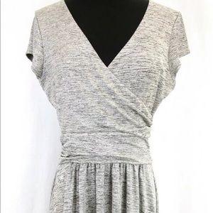 Metallic Flare M Dress Maeve Cap Sleeve